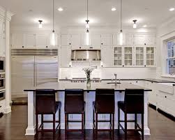 Pendulum Lights For Kitchen Best Pendant Lights Above Kitchen Island With White Countertop