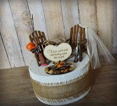 shot gun riffle hunting wedding cake topper gun deer country