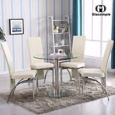 Round Dining Room Sets EBay - Dining room sets round