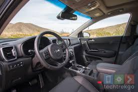 kia sportage interior first drive 2017 kia sportage techtrekgo