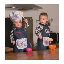 tablier cuisine enfants tablier de cuisine pour enfant 3 à 6 ans
