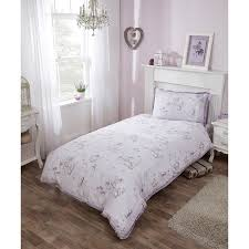 Lilac Bedding Sets Single Duvet Set Lilac Bedding B M