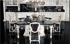 Black Kitchen Design Ideas Kitchen Charming Classic Black And White Kitchen Ideas For