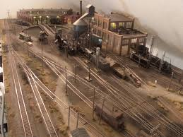 my ho scale layout steam and diesel locomotive facility 1 model
