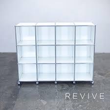 Aktenschrank Usm Haller Designer Sideboard Garnitur Regal Weiß Rollbar 35x35cm