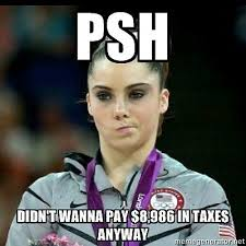 a funny tax riff on the mckayla is not impressed meme tax memes