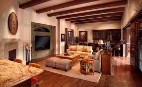Paradise Valley Tuscan Style - Tuscan family room