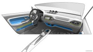 Interior Design Sketches by Volkswagen Taigun Suv Concept Interior Design Sketch Hd
