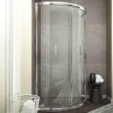 39 Shower Door Anzzi Baron 39 X 74 75 Sliding Framed Shower Door Reviews