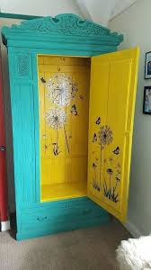 no skeletons in this cupboard wardrobe makeover using chalk