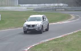 2018 bmw x3 u0027m40i u0027 prototype spotted nice exhaust note video