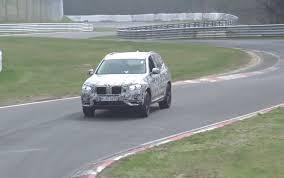 2018 bmw x3 u0027m40i u0027 prototype spotted nice exhaust note video