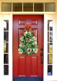 large christmas tree wreath deco mesh christmas wreath