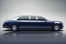 Dodge Challenger Limo - bentley mulsanne grand limousine side profile motor trend