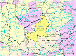 jersey area code map basking ridge jersey wikiwand