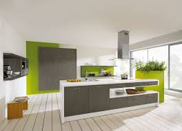 Grey And Green Kitchen The Grey Color In The Interior And Its Combinations With Other Colors
