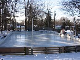 best backyard ice rink home design inspirations