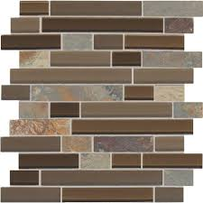 daltile slate radiance saddle 11 3 4 in x 11 3 4 in x 8 mm glass