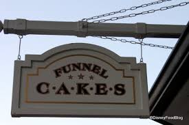 funnel cakes the disney food blog