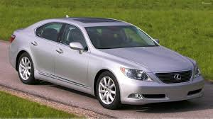 lexus ls 460 images lexus ls 460 in silver pose in field wallpaper