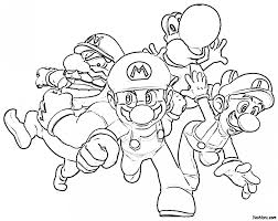 mario brothers printable colouring pages 13 super mario