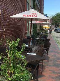 Restaurant Patio Planters by Where To Dine With Your Dog In Greater Portland Mainetoday