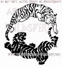 peace and fury yin yang tiger design by wildspiritwolf on deviantart