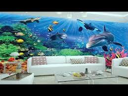 3d wallpaper for rooms 3d wall sticker 3d ocean wallpaper