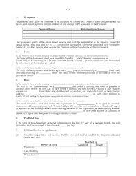 Rent Receipt Template Ontario Ontario Condominium Tenancy Agreement Legal Forms And Business