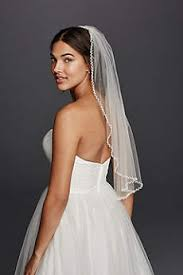bridal veil wedding veils in various styles david s bridal