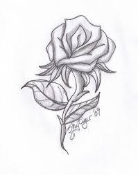 gallery rose drawings in pencil drawing art gallery