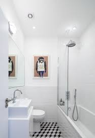 Houzz Black And White Bathroom Houzz Small Bathrooms Bathroom Contemporary With Frosted Glass