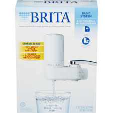 Pur Vs Brita Faucet Water Filter Amazon Com Brita On Tap Basic Water Faucet Filtration System
