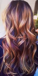 ruby and gold highlights hair tips u0026 hair care pinterest