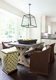 Dining Room Table Lighting Ideas Architecture Melanie Turner Eat In Kitchen Breakfast Nook