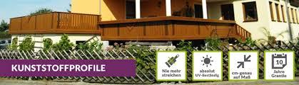 kunststoffprofile balkon kunststoffprofile golden oak stückware auf maß
