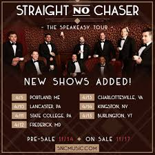 straight no chaser fan club presale we re thrilled to announce that we ll be straight no chaser