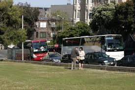 Tour Buses Banned From Alamo Square Neighborhoods San