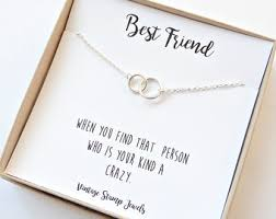 eternity necklace gold necklace friend gift box