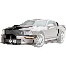 2005 Black Mustang Gt Cervini 9022 Mustang Body Kit C Series Unpainted V6 Gt Coupe 2005 09