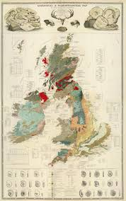 Seattle Premium Outlet Map Geological U0026 Palaeontological Map Of The British Islands 1854