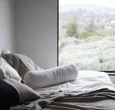 bolster bed pillows linen bolster pillow rough linen 100 linen classic bed bolster