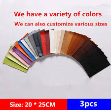 self adhesive leather patch 3pcs leather sofa patches sofa repair leather self adhesive pu for