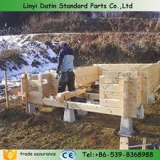 concrete decking posts concrete deck footing blocks precast