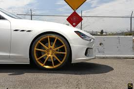 maserati ghibli black rims wald maserati ghibli black di forza bm12 savini wheels