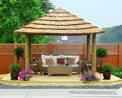 exterior backyard decor ideas image of gazebo decorations gazebo