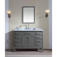gray bathroom vanities you u0027ll love wayfair