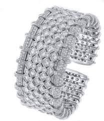 bracelet diamond images R c m diamond cuff bracelet for sale at 1stdibs jpg