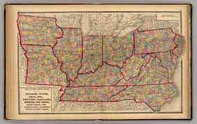 Kentucky Tennessee Map by Delaware Illinois Indiana Iowa North Carolina Tennessee