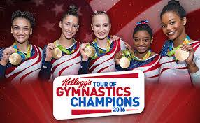 Winter Garden Gymnastics - usa gymnastics 2016 kellogg u0027s tour of gymnastics champions takes